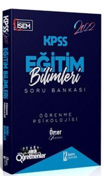 İsem Yayınları2022 KPSS Eğitim Bilimleri Öğrenme Psikolojisi Çözümlü Soru Bankası