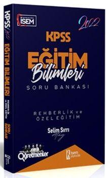 İsem Yayınları2022 KPSS Eğitim Bilimleri Rehberlik ve Özel Eğitim Çözümlü Soru Bankası