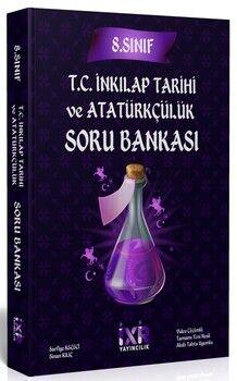 İsem Yayınları8. Sınıf T.C. İnkılap Tarihi ve Atatürkçülük İXİR Soru Bankası