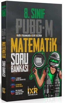 İsem Yayınları8. Sınıf Matematik İXİR PUBG-M Soru Bankası