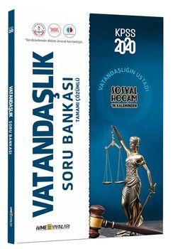 İvme Yayınları 2020 KPSS Vatandaşlık Tamamı Çözümlü Soru Bankası
