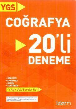 İzlem Yayınları YGS Coğrafya 20 Deneme