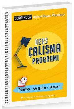 Şenol Hoca Ders Çalışma Programı
