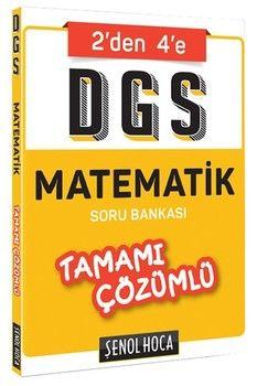 Şenol Hoca DGS Matematik Tamamı Çözümlü Soru Bankası