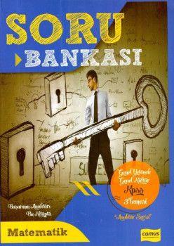 Camus Yayınları KPSS Genel Yetenek Genel Kültür Matematik Soru Bankası