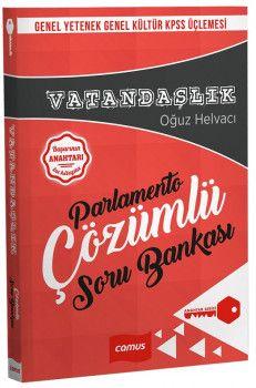 Camus Yayınları KPSS Genel Yetenek Genel Kültür Vatandaşlık Parlamento Çözümlü Soru Bankası