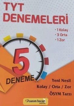 Canım Hocam Yayınları TYT 5 Deneme