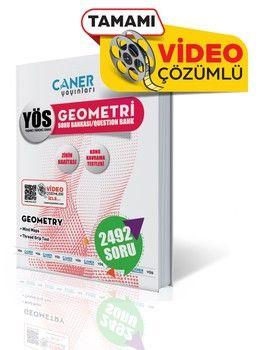 Caner Yayınları YÖS Geometri Soru Bankası