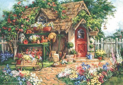 Cennet Bahçesi Gardener\'s Haven 500 Parça Yapboz
