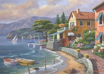 Cennetin Kıyısı  Paradise Retreat 3000 Parça Yapboz