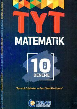 Ceran Matematik Yayınları YKS 1. Oturum TYT Matematik Çözümlü 10 Deneme
