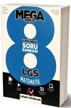 Cevap Yayınları 8. Sınıf LGS MEGA 8 Matematik Soru Bankası