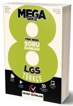 Cevap Yayınları 8. Sınıf LGS Türkçe MEGA Soru Bankası
