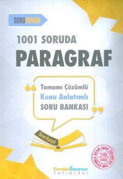 Cevdet Özsever 1001 Soruda Paragraf Tamamı Çözümlü Konu Anlatımlı Soru Bankası