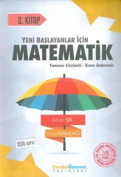 Cevdet Özsever Yayınları Matematik 2. Kitap Tamamı Çözümlü Konu Anlatımlı 1556 Soru