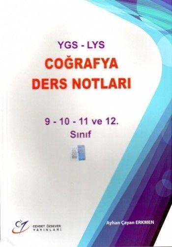Cevdet Özsever YGS LYS Coğrafya Ders Notları