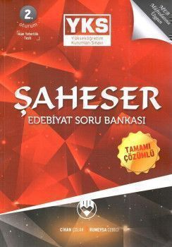 Cihan Çolak YKS 2. Oturum AYT ŞAHESER Edebiyat Tamamı Çözümlü Soru Bankası