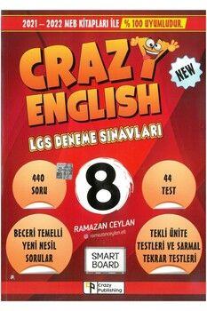 Crazy Publishıng 8. Sınıf LGS Deneme Seti