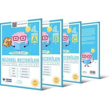Curinous Genius 4. Sınıf Bilişsel Beceriler Geliştirme Aktiviteleri Seti A B C Seri