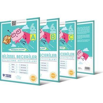 Curinous Genius 6. Sınıf Bilişsel Beceriler Geliştirme Aktiviteleri Seti A B C Seri