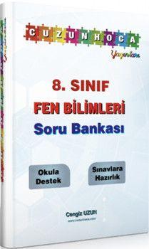 Cuzun Hoca Yayınları 8. Sınıf Fen Bilimleri Soru Bankası
