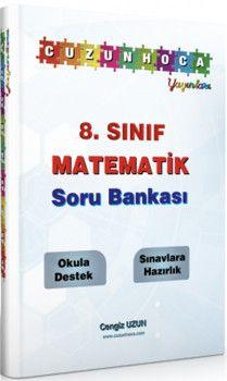 Cuzun Hoca Yayınları 8. Sınıf Matematik Soru Bankası