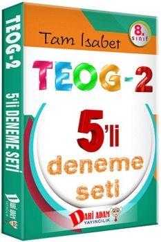 Dahi Adam 8. Sınıf TEOG 2 Tam İsabet 5 Li Deneme Seti