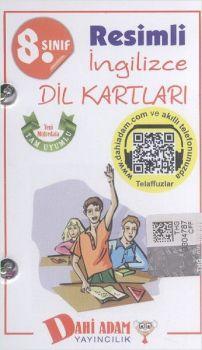 Dahi Adam 8. Sınıf Resimli İngilizce Dil Kartları