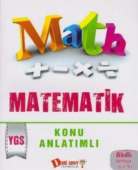 Dahi Adam Yayınları YGS Matematik Konu Anlatımlı
