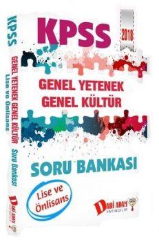 Dahi Adam Yayınları 2018 KPSS Lise Ön Lisans Genel Yetenek Genel Kültür Soru Bankası