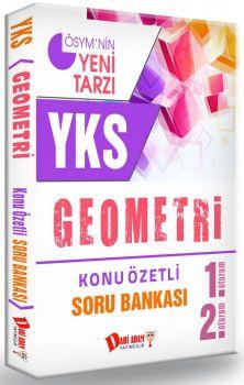 Dahi Adam Yayınları YKS 1. ve 2. Oturum Geometri Konu Özetli Soru Bankası