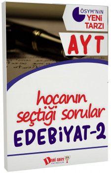 Dahi Adam Yayınları YKS 2. Oturum AYT Edebiyat 2 Hocanın Seçtiği Sorular