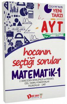 Dahi Adam Yayınları YKS 2. Oturum AYT Matematik 1 Hocanın Seçtiği Sorular