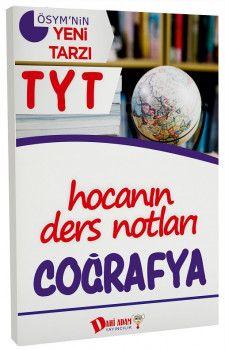 Dahi Adam Yayınları YKS 1. Oturum TYT Coğrafya Hocanın Ders Notları