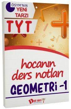 Dahi Adam Yayınları YKS 1. Oturum TYT Geometri 1 Hocanın Ders Notları