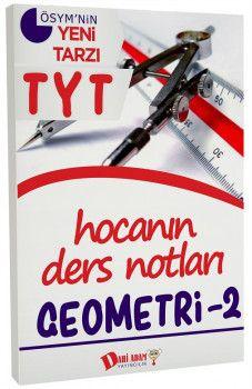 Dahi Adam Yayınları YKS 1. Oturum TYT Geometri 2 Hocanın Ders Notları
