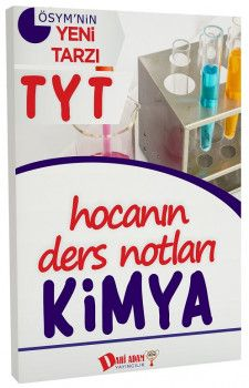 Dahi Adam Yayınları YKS 1. Oturum TYT Kimya Hocanın Ders Notları