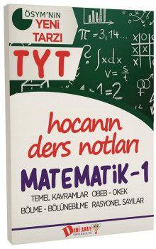 Dahi Adam Yayınları YKS 1. Oturum TYT Matematik 1 Hocanın Ders Notları