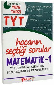 Dahi Adam Yayınları YKS 1. Oturum TYT Matematik 1 Hocanın Seçtiği Sorular