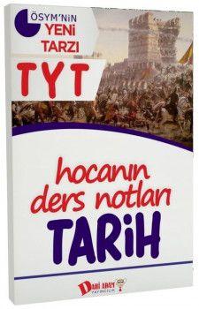 Dahi Adam Yayınları YKS 1. Oturum TYT Tarih Hocanın Ders Notları