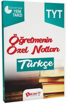 Dahi Adam Yayınları YKS 1. Oturum TYT Türkçe Öğretmenin Özel Notları