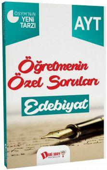 Dahi Adam Yayınları YKS 2. Oturum AYT Edebiyat Öğretmenin Özel Soruları