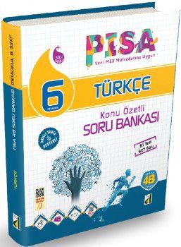 Damla Yayınları 6. Sınıf PISA Türkçe Konu Özetli Soru Bankası