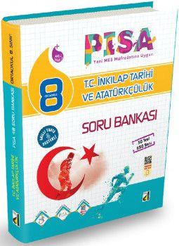 Damla Yayınları 8. Sınıf PISA T.C. İnkılap Tarihi ve Atatürkçülük Soru Bankası