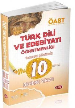 Data 2017 ÖABT Türk Dili ve Edebiyatı Öğretmenliği Çözümlü 10 Deneme Sınavı