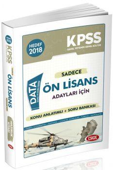 Data 2018 KPSS Ön Lisans Adayları İçin Konu Anlatımlı Soru Bankası