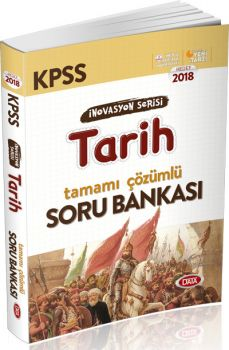 Data 2018 KPSS İnovasyon Serisi Tarih Tamamı Çözümlü Soru Bankası