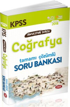 Data 2018 KPSS Coğrafya Tamamı Çözümlü Soru Bankası İnovasyon Serisi