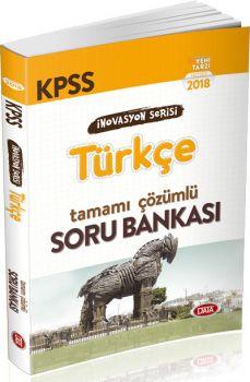 Data 2018 KPSS Türkçe Tamamı Çözümlü Soru Bankası İnovasyon Seris