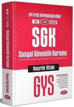 Data 2022 GYS SGK Konu Anlatımlı Hazırlık Kitabı